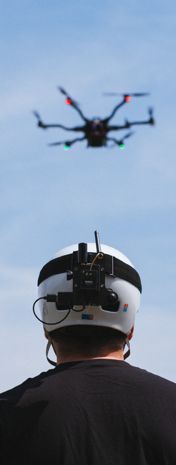 Freefly Robotics sensors being used in drone piloting